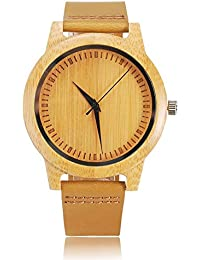 964221f19a52 Amazon.es   Bamboo   Relojes