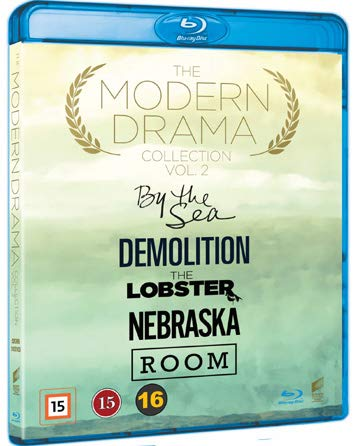 Modern Drama Collection 5-Disc Set ( By the Sea / Demolition / The Lobster / Nebraska / Room ) [ Schwedische Import ] (Blu-Ray)