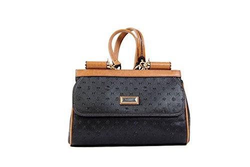 Tasche Damentasche Luxus Einfarbig Abendtasche Taymir 2Jahre Garantie creme usw. Schwarz-Berber