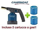 ALTIGASI Saldatore SOUDOGAZ X2000 CAMPINGAZ con Sistema Clip & Go per LA CONNESSIONE SICURA CARTUCCE FORABILI - Potenza 1650 W - Incluse 2 CARTUCCE da 190 GR Modello C206 GLS