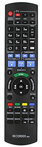 Ersatz Fernbedienung for Panasonic DMR-BST740 DMR-BST740EG DMR-BST750EG DMR-BST755 DMR-BST755EG DMR-BST760