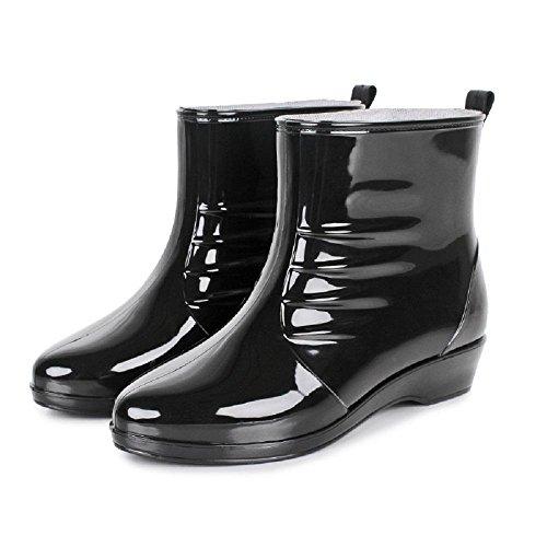 Stivali da pioggia di moda lady outdoor Black