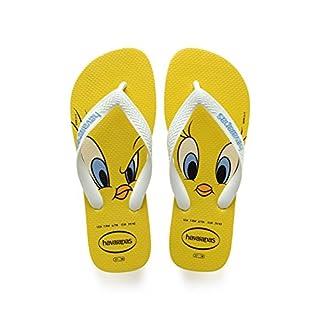 Havaianas Unisex-Erwachsene Looney Tunes Zehentrenner Gelb (Citrus Yellow) 41/42 EU