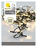 LED Lichterkette mit 180 LEDs warmweiß - Innen und Außen - Mit Controller (8 Funktionen) und Speicherchip!