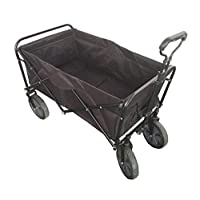 Folding camping multi-function shopping cart R-2022 Black