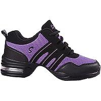 Zapatos de Baile Danza Moderna Zapatos de Jazz Movimiento Zapatos de la  Aptitud 1fdffe04b42