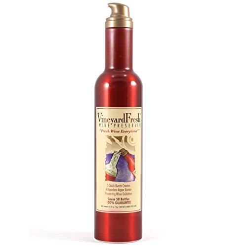 VineyardFresh Retail Sized Wine Preserver, Set of 3 by VineyardFresh