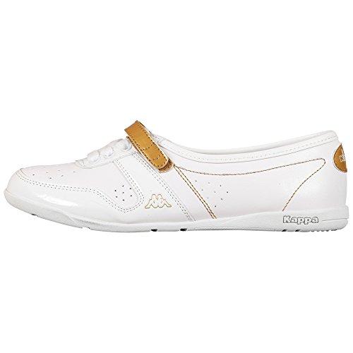 Kappa Fairy Velcro Footwear Women, Peu femme Blanc - Weiß (1045 WHITE/GOLD)