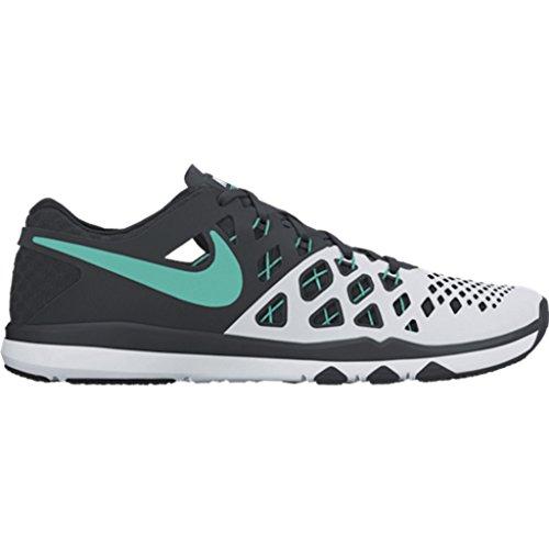 Nike Train Speed 4, Chaussures de Randonnée Homme Blanco (White / Hyper Jade-Black)