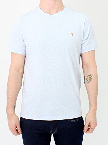 Farah Men's Denny Marl Ss T-Shirt