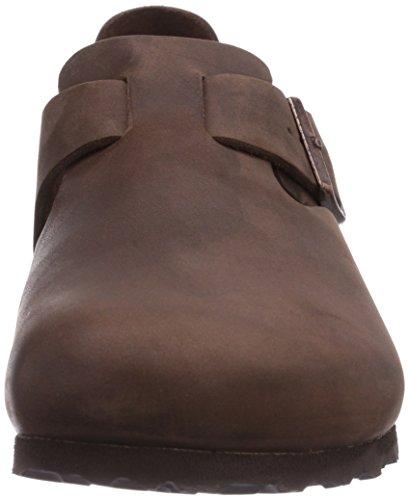 Birkenstock London 66131, Chaussures basses mixte adulte Havane