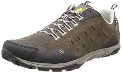 Columbia Mens CONSPIRACY RAZR Trekking & Hiking Shoes Brown Braun (Mud, Chartreuse 255) Size: 7.5