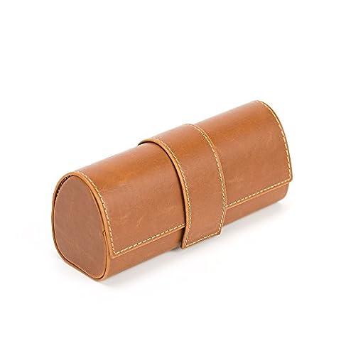 Dur cuir Vintage Lunettes de soleil Case - KingOfHearts™ Case
