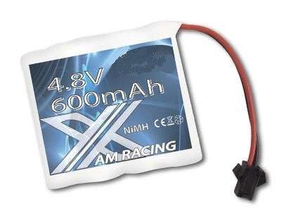 Preisvergleich Produktbild BUSDUGA - 2568 AKKU 4.8V mit 600maH NimH