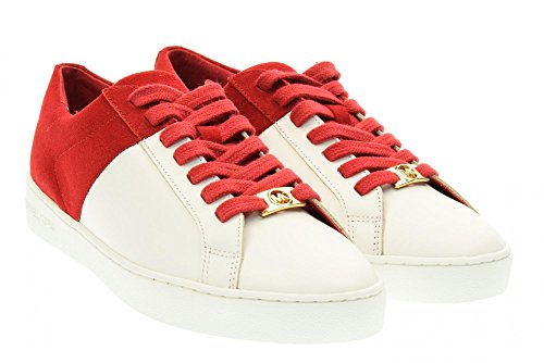 michael-kors-women-low-sneakers-43r6tofs1s-toby-lace-up-39-bianco-rosso