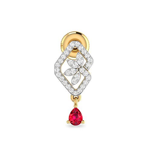 1b5ca048f 9% OFF on PC Jeweller The Dalis 18KT Yellow Gold and Solitaire Stud Earrings  for