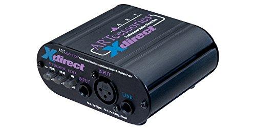 Art x-direct Activo DIRECTO inyección CAJA - Los interruptores atenuadores de entrada permiten una amplia gama de niveles de señal y el conector de enlace de entrada permite el golpear ligeramente de su cadena de señal. - El xdirect es una interfaz d...