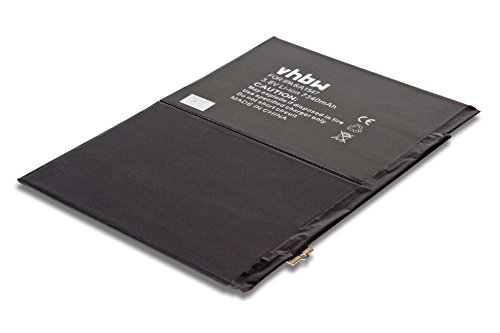 Preisvergleich Produktbild vhbw Li-Polymer Akku 7340mAh (3.76V) für Tablet Pad Apple IPad Air 2 6.Generation,  2 A1566,  A1547,  A1567,  MNV62FD / A