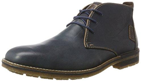 Rieker Herren F1310 Desert Boots, Blau (Ozean/Braun/Kastanie), 42 EU