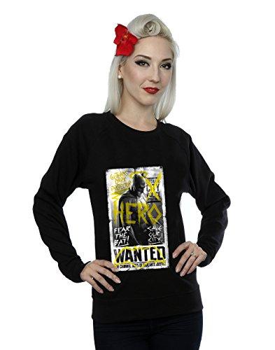 DC Comics Donna Batman v Superman Wanted Poster Felpa XX-Large Nero