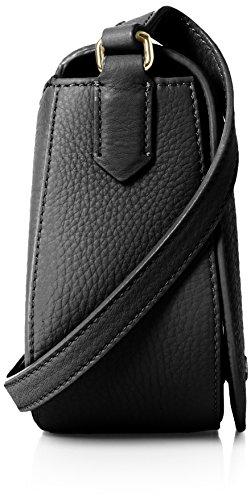Ecco - Kauai Small Saddle Bag, Borse a tracolla Donna Nero (Black)