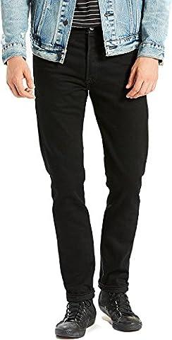 Levi's Herren 501 Eng geschnittene, schwarze Punk Jeans, Schwarz, 36W x 34L