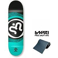 Monopatín skate skateboard IMAGINE Model: Round logo 8.1