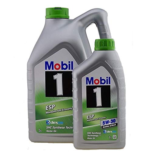 Motorschmieröl - Mobil 1 TM ESP 5W-30 Dexos 2, 6 Liter (5 Liter + 1 x 1 Liter)