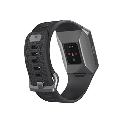 Fitbit Ionic - Smartwatch deportivo con GPS, música y sensor HR, color gris carbón/basalto