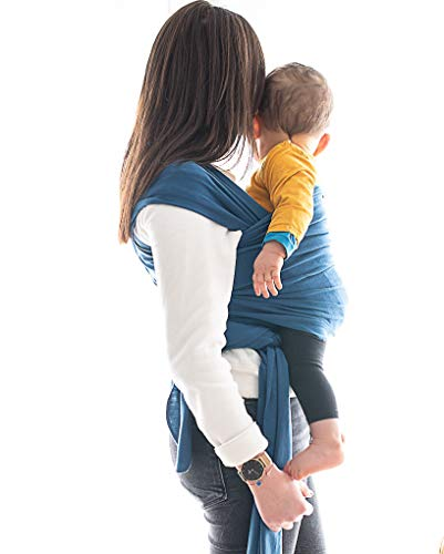 Écharpe de portage bébé - Facile à utiliser - Confortable longue et souple - Porte-bébé de qualité multiposition -OFFERT: Sac de rangement - Idéale pour l'allaitement-Maintient parfait pour bébé