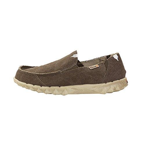 Dude Shoes Men's Farty Classic Wenge Slip On / Mule