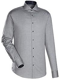JACQUES BRITT Smart Casual Hemd Custom Fit Langarm Bügelleicht Uni / Uniähnlich Casual-Hemd Hai-Kragen Manschette weitenverstellbar