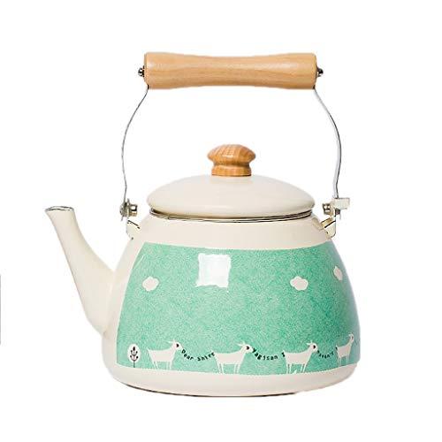 SCJS Thick Enamel Pot Kettle Chinese Medicine Pot Jug Chinese Medicine Pot Induction Cooker Universal Quart Flame Top
