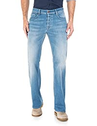 Salsa - Jeans Derby avec lavage léger et jambe bootcut - Homme