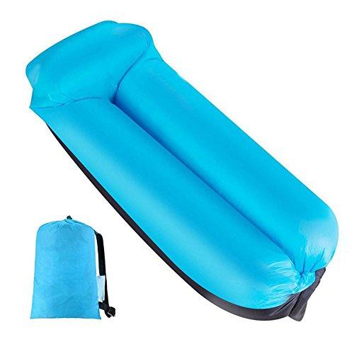 Wasserdichtes Aufblasbares Sofa, Aufblasbare Liege, Tragbar Aufblasbarer Sitzsack, Aufblasbare Couch...