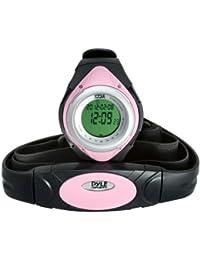Pyle PHRM38PN - Reloj digital pulsómetro, color rosa