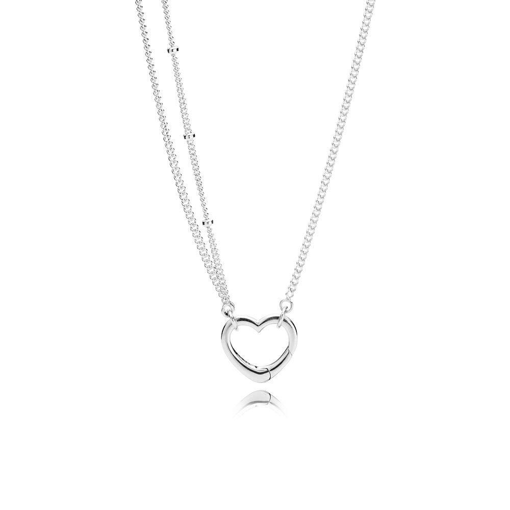 Pandora Collar con colgante Mujer plata – 397204-70