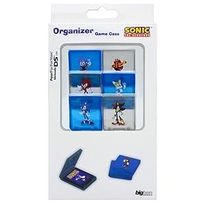 """Nintendo DS Lite/DSi/DSi XL – Game Organizer """"Sonic"""""""