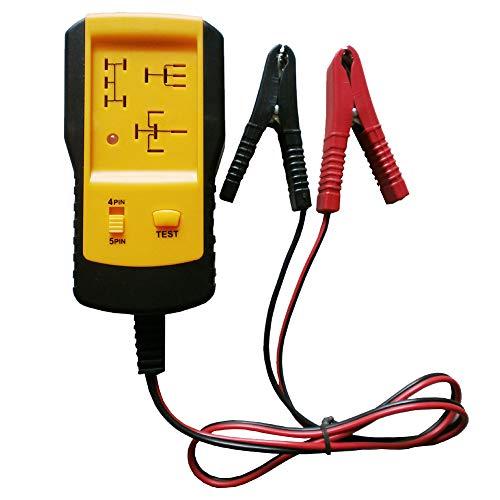 Sedensy, Tester relè per Auto, Controllo elettronico della Batteria per Auto e Veicolo