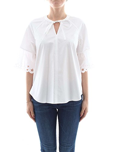 Tommy Hilfiger WW0WW22473 T Shirts Femme Blanc