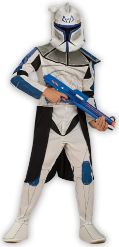 Captain Rex Kostüm für Kinder, (Rex Captain Kostüm Clone Wars)