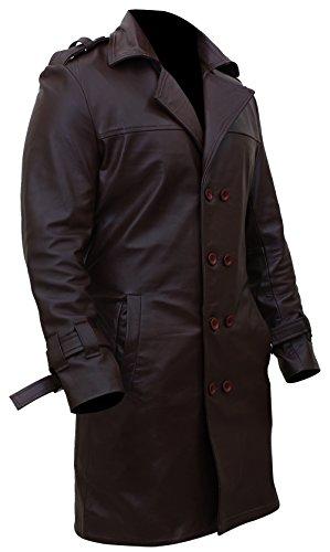 Martech Apparel Herren Trenchcoat Mantel Braun