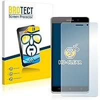 2x BROTECT Protector Pantalla Uhappy UP580 Película Protectora – Transparente, Anti-Huellas