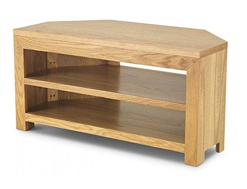 Cube meuble TV d'angle - Meubles en chêne cube - Mobilier moderne en chêne