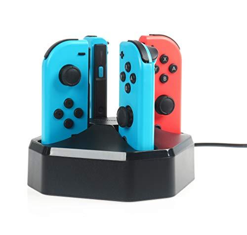AmazonBasics - Stazione di ricarica per controller Joy-Con di Nintendo Switch