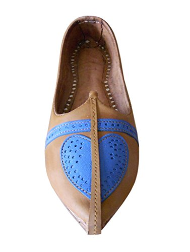 Kalra Creations Chaussons Pour Homme Camel