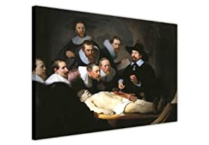 CANVAS WALL ART PRINTS THE ANATOMY LESSON OF DR NICOLAES TULP BY REMBRANDT VAN RIJN PHOTO PRINTING PICTURES ROOM DECORATION CLASSIC CANVASES