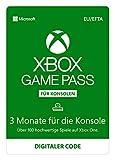 Xbox Game Pass   3 Monate Mitgliedschaft   Xbox One - Download Code