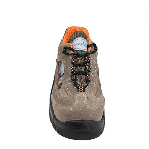 CoFan s1P sRC chaussures zapato berufsschuhe 00823 chaussures Marron - Marron