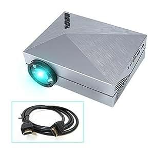 crenova xpe450 vid oprojecteur portable 1000 lumens r solution 800 480 connect avec tv. Black Bedroom Furniture Sets. Home Design Ideas